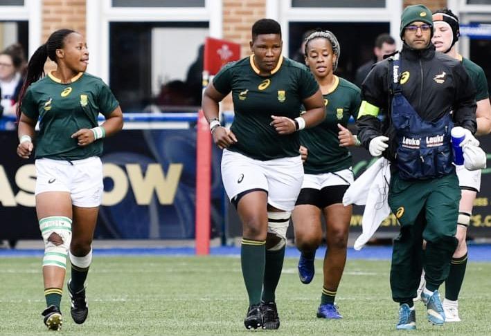 Team Doctor Springbok Women Dr Janesh P Ganda